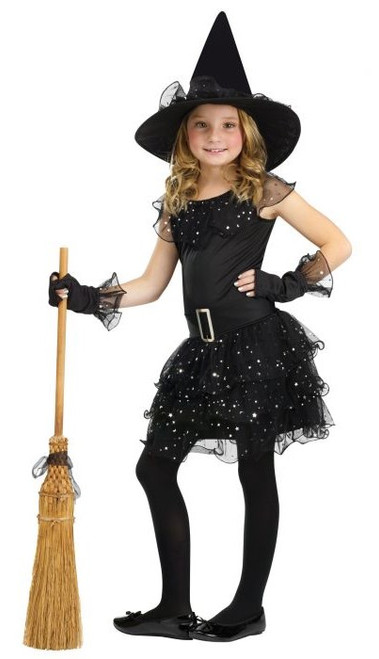 Glitter Witch Costume for Girls