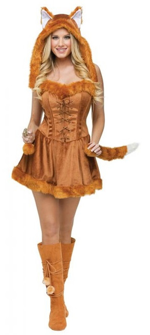 Fox Lady Costume for Women