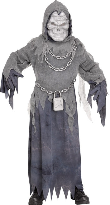 Ghost Boy Chained Costume