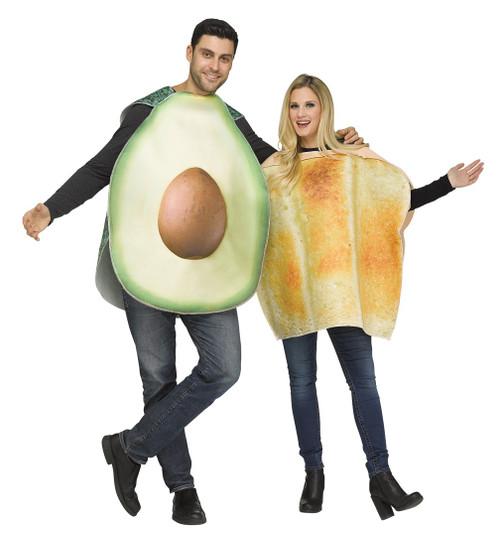 Couples Avocado Pair Costume