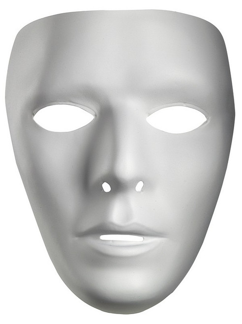 White Mask for Men