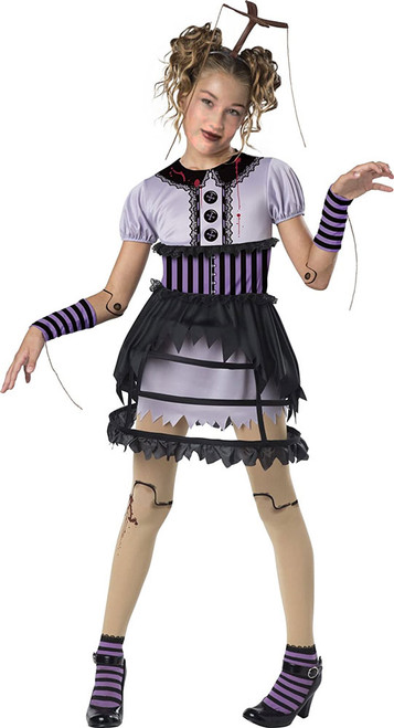 Fractured Marionette Costume for Girls
