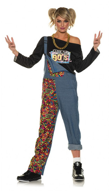 90s Overalls Costume for Women