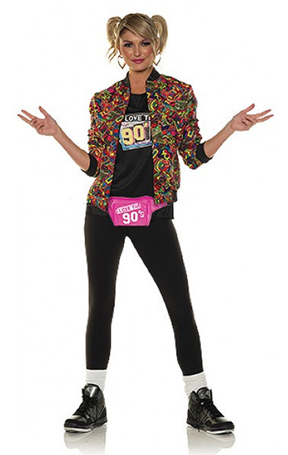 90s Jacket Costume for Women