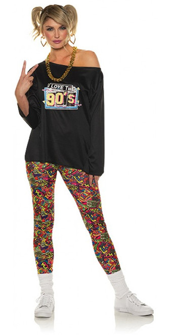 90s Leggings Costume for Women