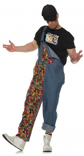 90s Overall Costume for Men