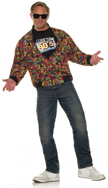 90s Jacket Costume for Men