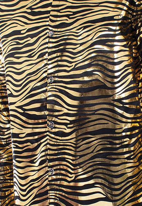 Sequin Tiger King Gold Shirt