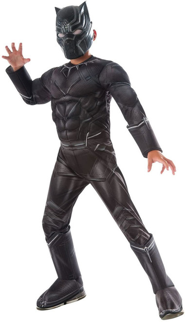 Deluxe Black Panther Costume for Boys