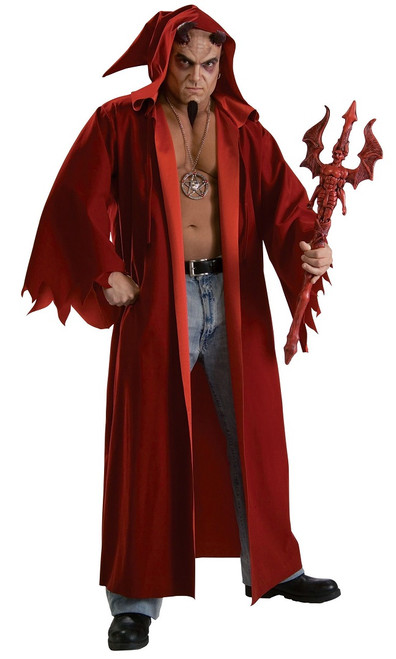Lucifer Scary Devil Man Costume