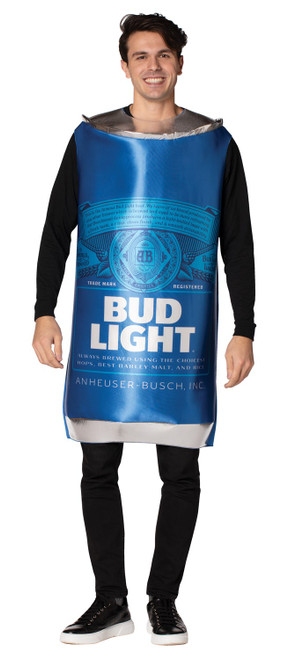 bud light can costume for men