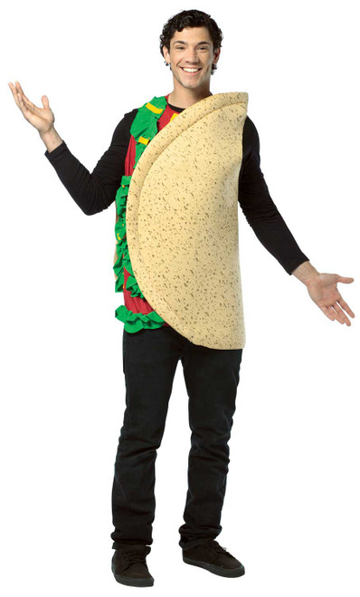 taco man food costume