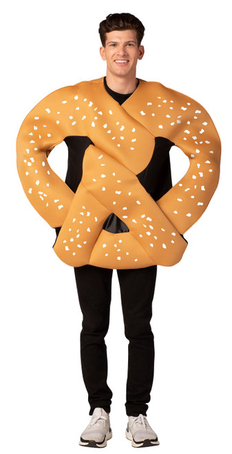 Oktoberfest Pretzel in hands costumes