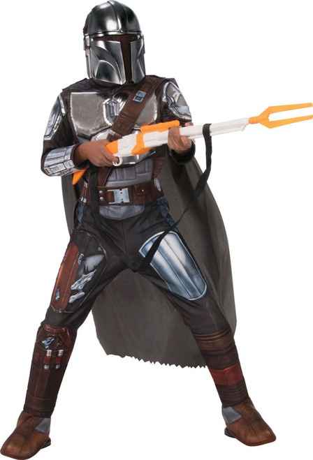 mandalorian costume for children