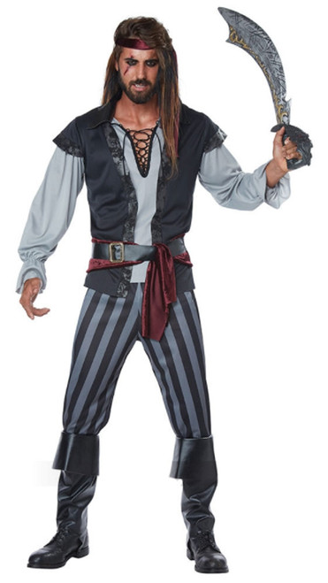 scallywag pirate plus size costume