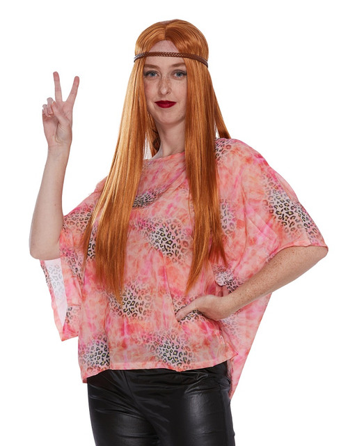 hippy tiger king blouse for women