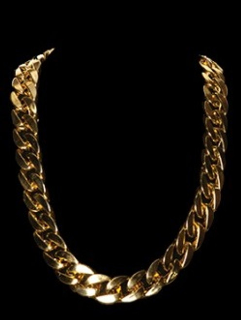 thick gold chain accessory