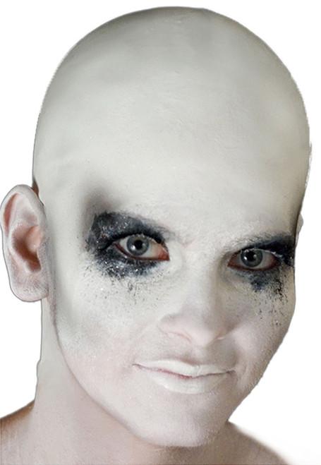 white mens bald cap