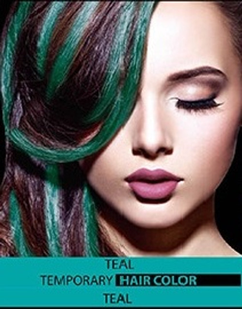 temporary hair colour dye teal