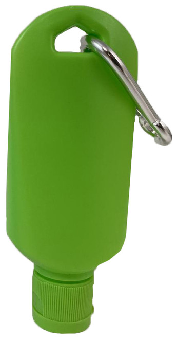 Covid Sanitized bottle in Green