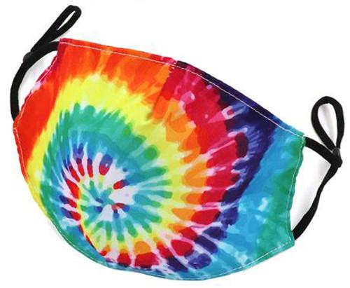 corona tie dye reusable mask