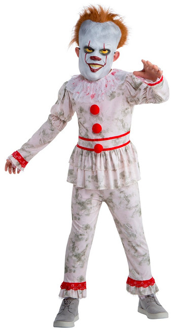evil dancing clown costume for children