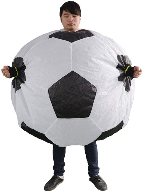 football man inflatable costume