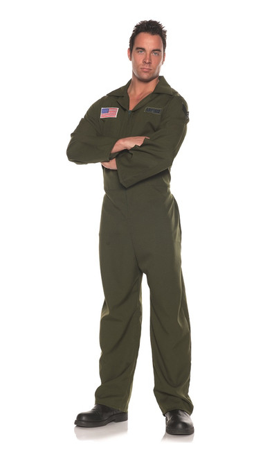 air force top gun man jumpsuit costume