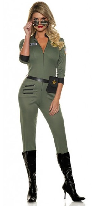 top gun woman costume danger zone