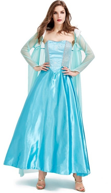 elsa princess woman costume