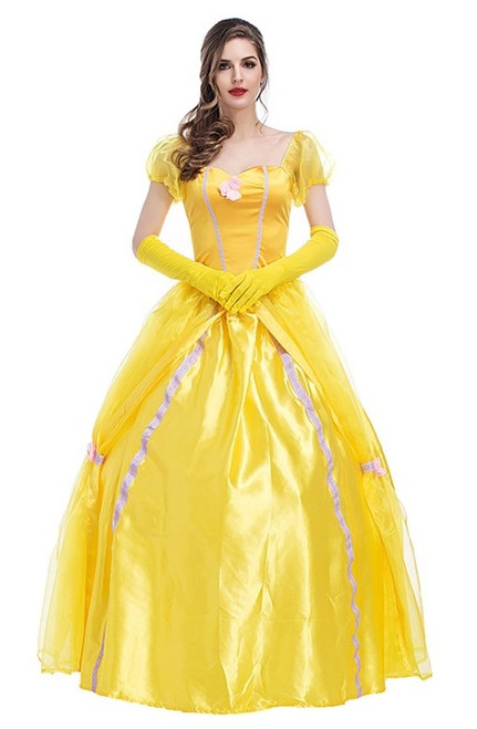 belle princess woman costume