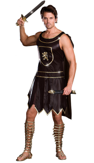 warrior king plus size costume