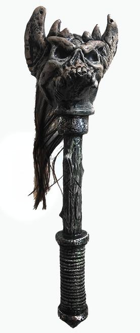 warrior skull staff 18 inch long