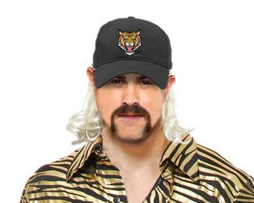 Tiger King hat with mullet