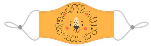Kids reusable lion mask