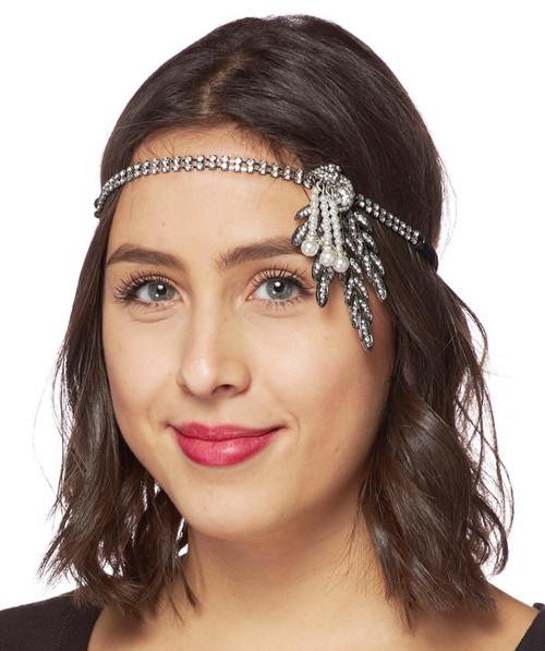 Gatsby Headband with fine detailing