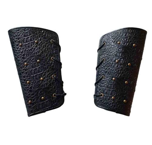 Leatherlike Warrior Wrist Armor