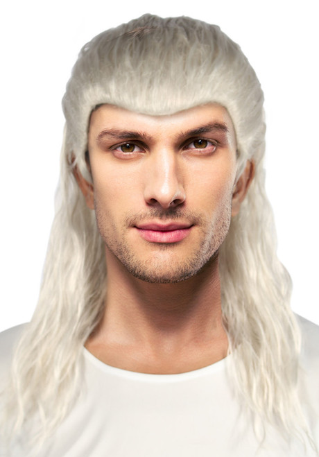 Slaughter man Witcher Wig