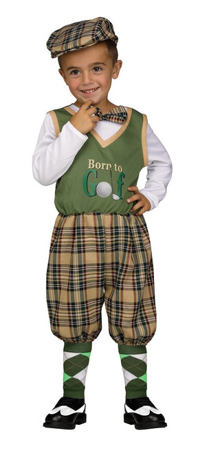 Retro Golfer Costume