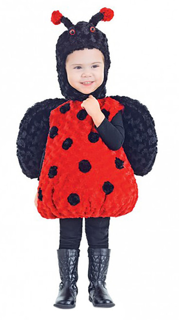 Lady Bug Plush Toddler Costume