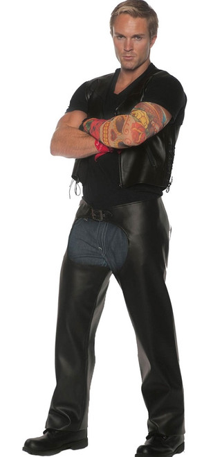 Highway Biker Leather Costume