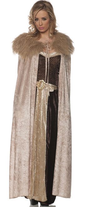 Full Length Renaissance Cape Beige