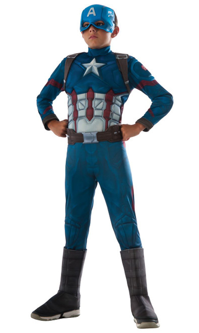 Captain America Child Muscle Costume