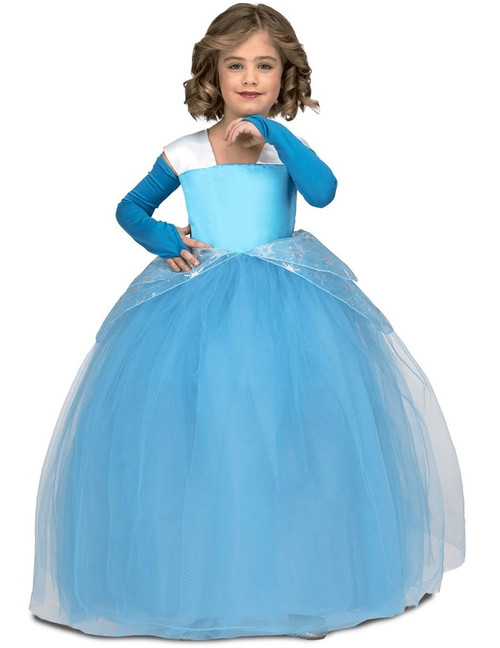 Girls Princess Deluxe Costume