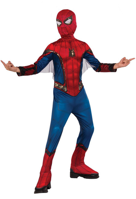 Spiderman Boys Costume Homecoming with web