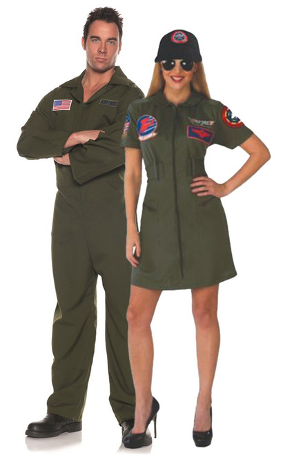 Top Gun Couple Costume Idea