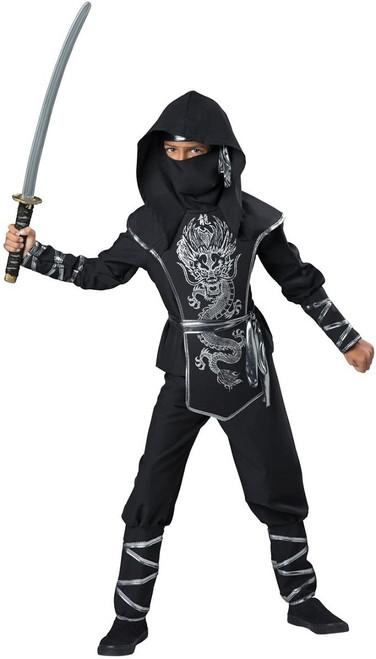 Dark Ninja Deluxe Costume for Boys