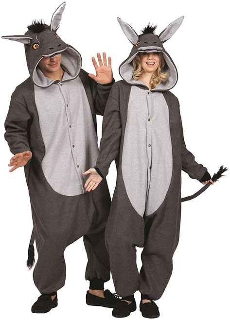 Donkey Onesie Costume for Adults