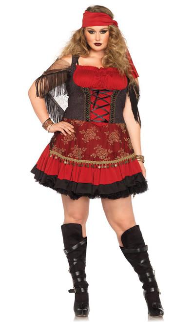 Mystic Gypsy Plus Costume
