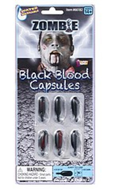 Zombie Black Blood Capsules